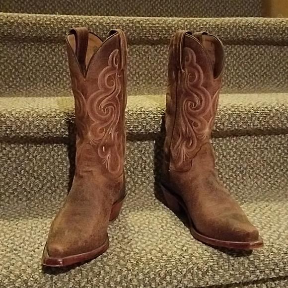 547379052c6 Women's Tony Lama Cowboy Boots Size 7